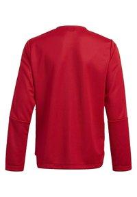adidas Performance - IRO 21 TRACK TOP - Training jacket - red - 1