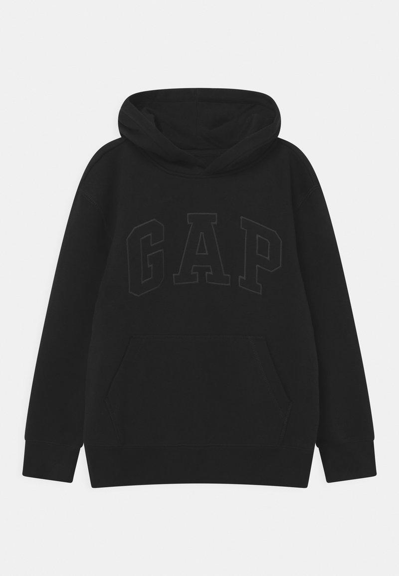 GAP - BOYS TONAL LOGO - Felpa - true black