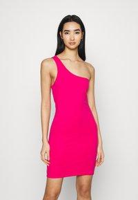 4th & Reckless - MARINA DRESS - Jersey dress - hot pink - 0