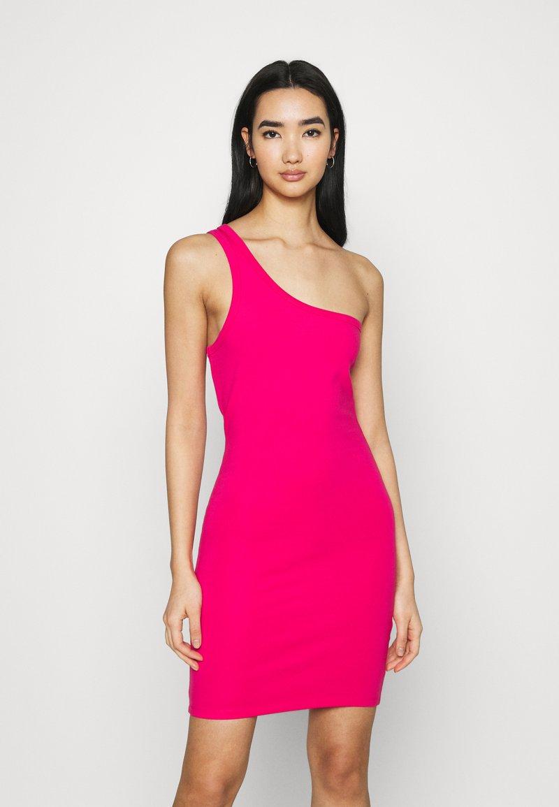 4th & Reckless - MARINA DRESS - Jersey dress - hot pink