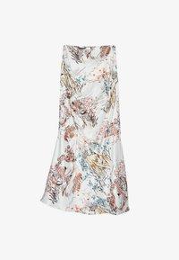 Uterqüe - A-line skirt - beige - 4