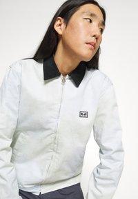 Obey Clothing - TIE DYE WORK JACKET - Kevyt takki - good grey - 5