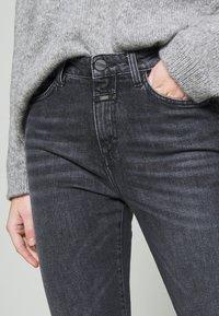 CLOSED - BAKER HIGH - Slim fit jeans - dark grey - 3