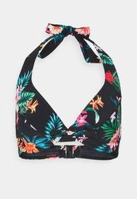 Pour Moi - WATERFALL UNDERWIRED HALTER TRIANGLE - Bikini top - tropical - 4