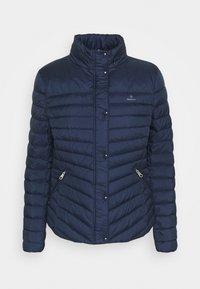 GANT - LIGHT JACKET - Down jacket - evening blue - 0