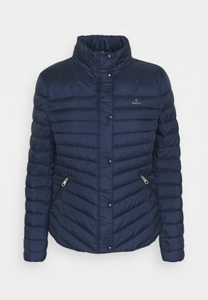 LIGHT JACKET - Down jacket - evening blue