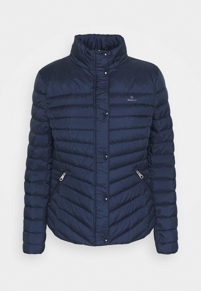 GANT - LIGHT JACKET - Down jacket - evening blue