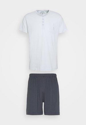 SET - Pyjamas - dark blue/mint