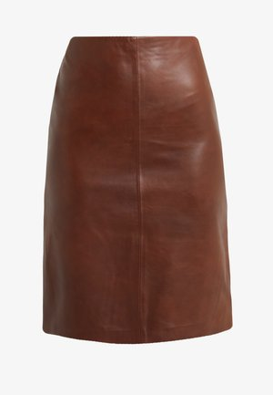 HANNA PENCIL SKIRT - Gonna a tubino - brown