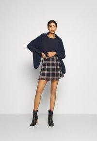 JDY - JDYJOLINE SKIRT  - A-snit nederdel/ A-formede nederdele - black/multicolor - 1