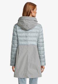 Amber & June - MIT KAPUZE - Winter coat - rauchblau - 2