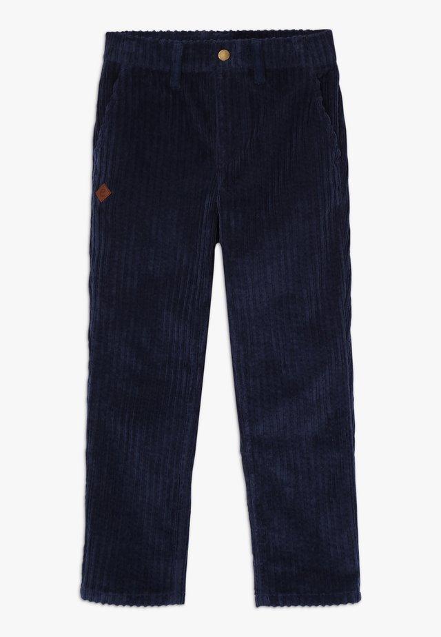 FAUSTINO TROUSERS - Pantaloni - navy