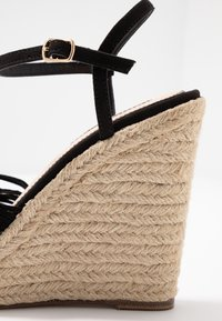 Miss Selfridge - WALLACE - Sandály na vysokém podpatku - black - 2