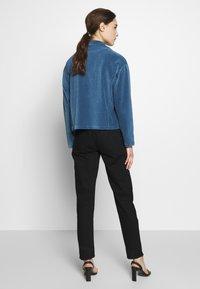 Moss Copenhagen - FLORINA JACKET - Lehká bunda - blue horizon - 2