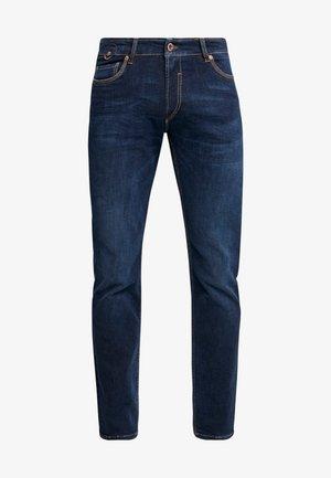 DUKE - Straight leg jeans - deep blue