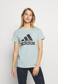 adidas Performance - BOS TEE - Print T-shirt - mint - 0