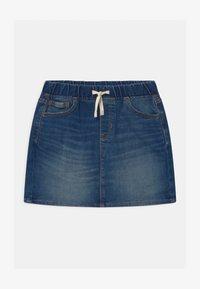 GAP - GIRLS - Mini skirt - dark indigo - 0