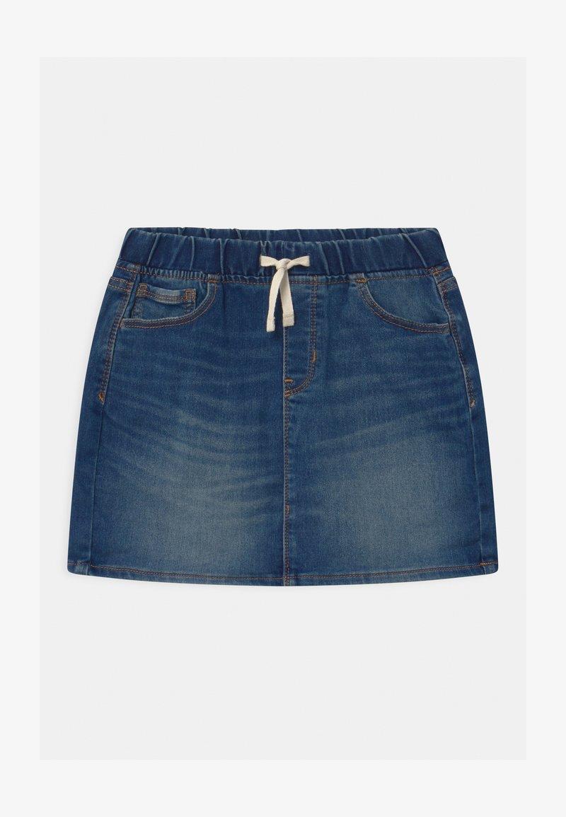 GAP - GIRLS - Mini skirt - dark indigo