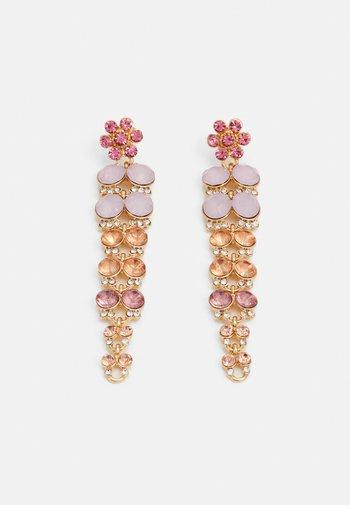 PCGLITTIA EARRINGS - Earrings - gold-coloured/multi