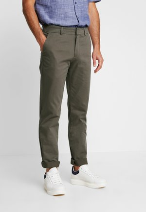 BEST PRESSED INSIGNIA EXTRA SLIM - Chinos - dark pebble