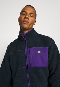 Dickies - CHUTE - Fleecejakker - dark navy/lilac - 4