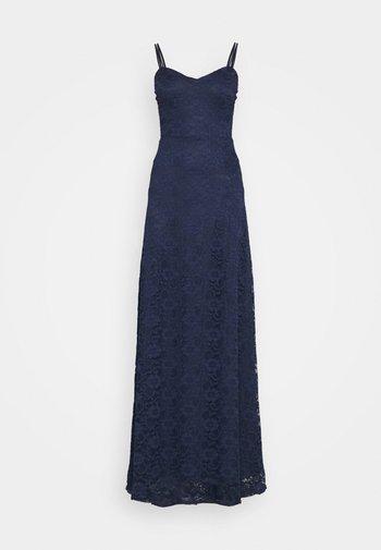 SWEETHEART NECK BRIDESMAID DRESS - Společenské šaty - navy