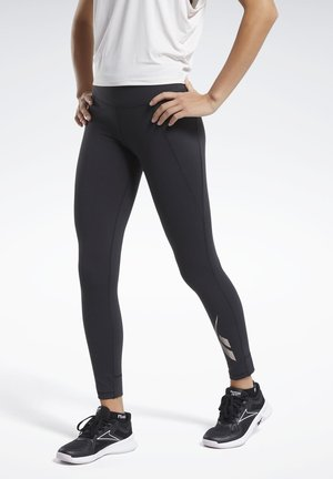 REEBOK LUX 2 LEGGINGS - Tights - black