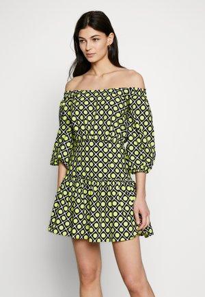OTTAVIA DRESS - Robe d'été - black/yellow