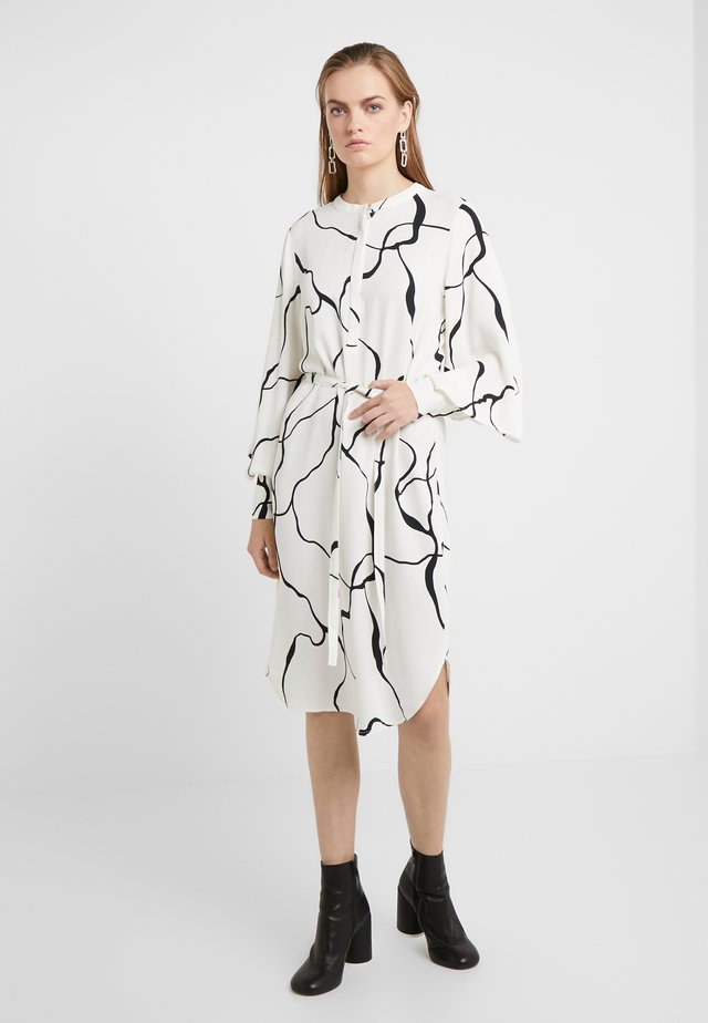 BONNE ABSTRACT DRESS - Vestido informal - snow white