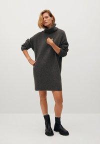 Mango - TALDORA - Jumper dress - tmavě šedá vigore - 1