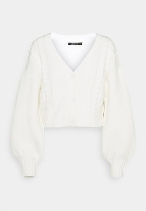 CALLIE CARDIGAN - Strikjakke /Cardigans - warm white