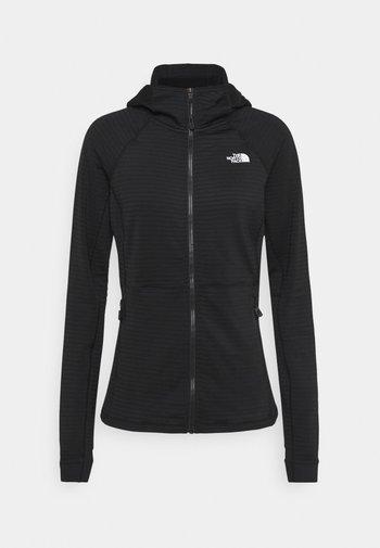 CIRCADIAN MIDLAYER HOODIE  - Fleece jacket - black