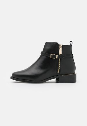 WIDE FIT POP - Ankelboots - black