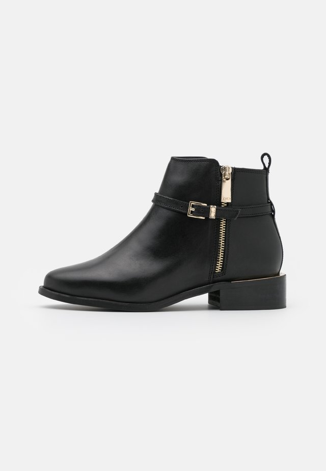 WIDE FIT POP - Ankle boots - black