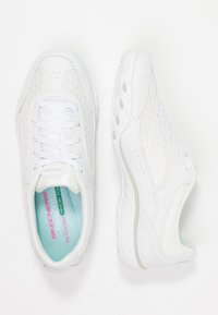 Skechers - BREATHE EASY - Zapatillas - white - 3