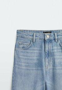 Massimo Dutti - Straight leg jeans - dark blue - 2
