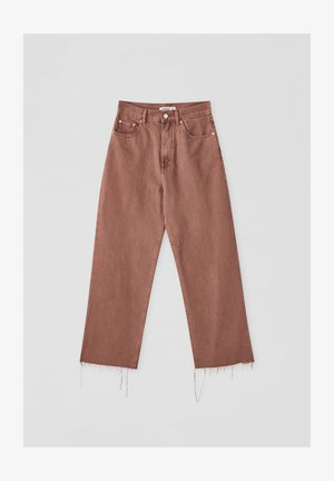 Flared Jeans - brown