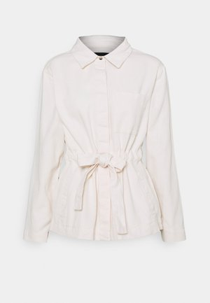 PCPAULINA TIE JACKET - Summer jacket - birch