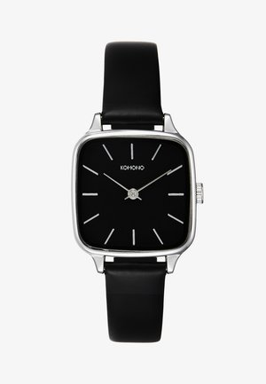 KATE - Watch - black/silver-coloured