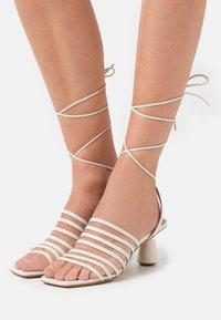 MAX&Co. - ESTRELLA - Sandals - beige - 0