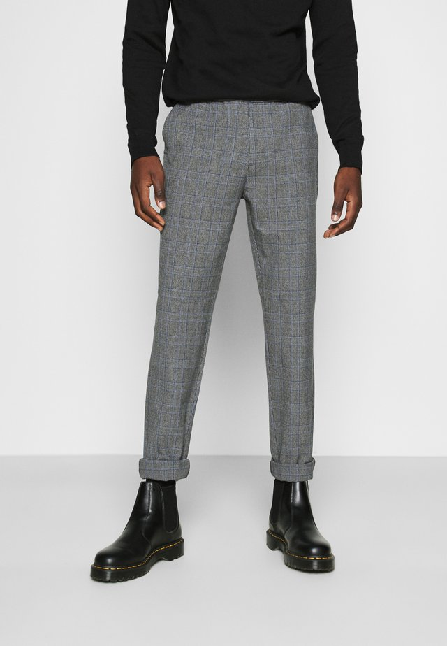 NEPAOLO PANTS - Pantaloni - grey check