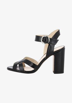 ISABEL - High heeled sandals - black