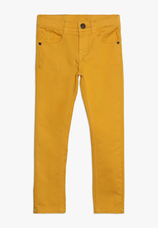 TROUSERS - Stoffhose - mustard