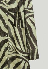 Massimo Dutti - Shirt dress - khaki - 5