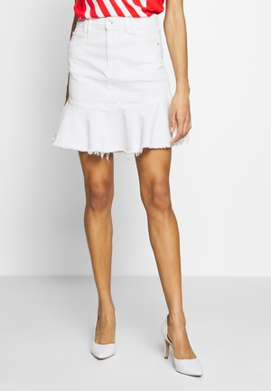 BLOOM SKIRT - Spódnica trapezowa - jungle white
