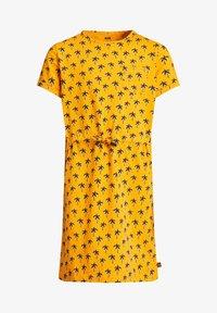 WE Fashion - MET PALMBOOMDESSIN - Day dress - ochre yellow - 3