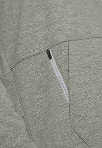Nike Performance - CREW STANDARD FIT - Sweatshirt - dark grey heather/black - 4
