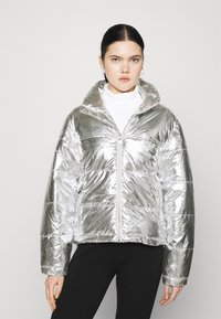 Gina Tricot - MY PUFFER JACKET - Winter jacket - silver - 0