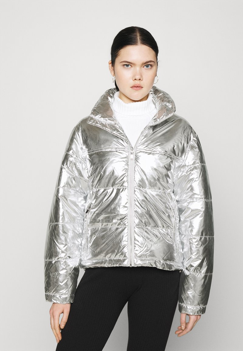Gina Tricot - MY PUFFER JACKET - Winter jacket - silver