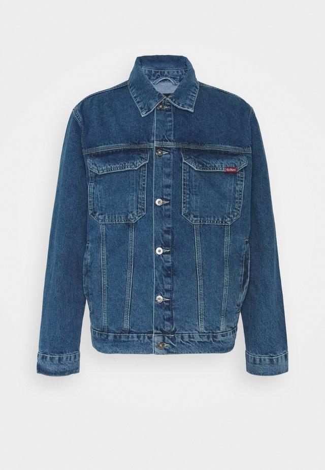 CLASSIC JACKET - Spijkerjas - mid blue